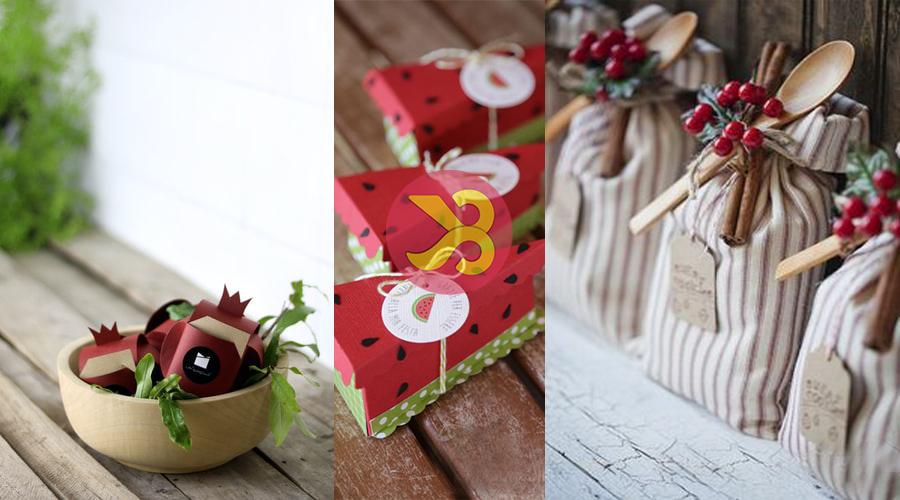 بهترین ایده برای تزئین هدیه و کادو برای شب یلدا