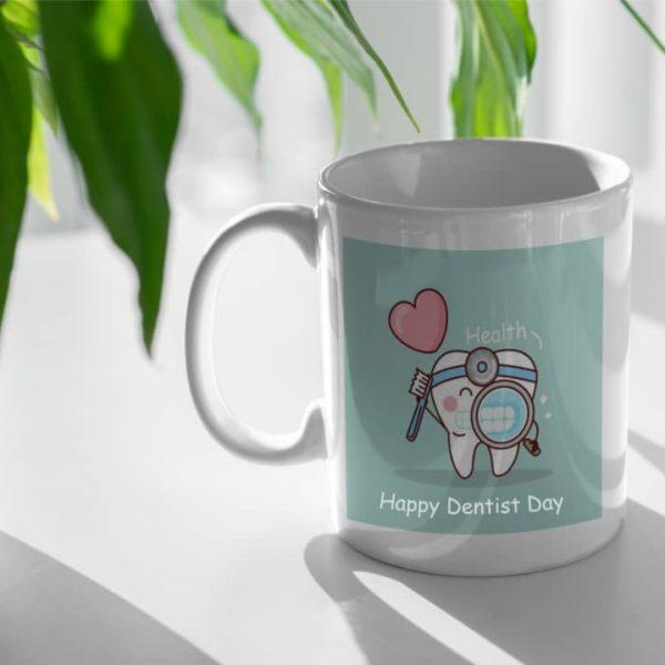 mug، ماگ دندانپزشک ، ماگ هدیه